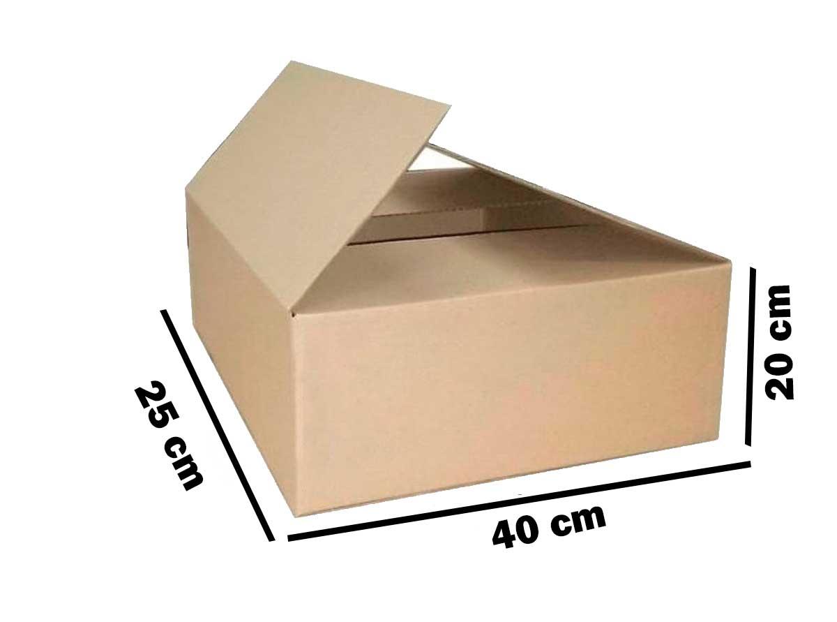 Kit 100 Unidades Caixa de Papelão 40x25x20