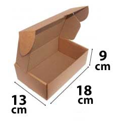 Kit 250 Unidades Caixa de Papelão SEDEX 18x13x9 - Custo  0,88 /UN
