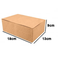 Kit 25 Unidades Caixa de Papelão Econômica 18x13x9 - Custo  0,52 /UN