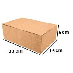 Kit 25 Unidades Caixa de Papelão Econômica 20x15x5 - Custo  0,72 /UN
