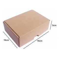 Kit 50 Unidades Caixa de Papelão SEDEX 16x11x5 - Custo  0,60 /UN