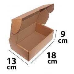 Kit 100 Unidades Caixa de Papelão SEDEX 18x13x9 - Custo  0,93 /UN