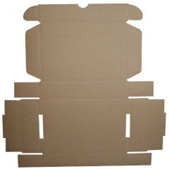 Kit 250 Unidades Caixa de Papelão SEDEX 27x18x9 - Custo  1,23 /UN