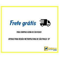 Kit 100 SACOS INVIOLÁVEL PARA E-COMMERCE CINZA R$ 0,26 UNIDADE