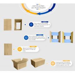 Caixa de Papelão 31x22x12 para E-Commerce com Impressão R$1,87 / un