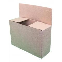 Kit 100 Unidades Caixa de Papelão Econômica 16x11x4 - Custo  0,32 /UN