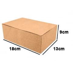 Kit 500 Unidades Caixa de Papelão Econômica 18x13x9 - Custo  0,56 /UN