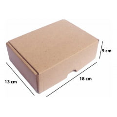 Kit 25 Unidades Caixa de Papelão SEDEX 18x13x9 - Custo  1,00 /UN