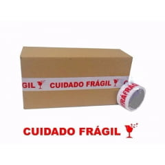 Fita PP Cuidado Frágil 48mm x 50m SK280