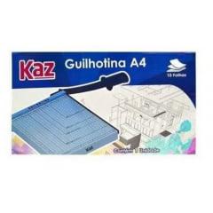 GUILHOTINA DE AÇO 30CM P/ 10FLS KZ09504-4 Kaz