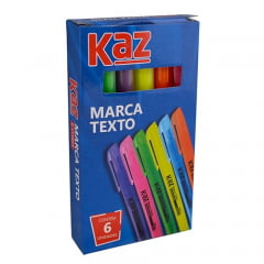PINCEL MARCA TEXTO 6 CORES KZ956622