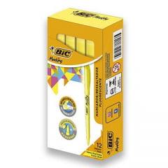 Pincel Marca Texto Amarelo Britte Liner Un.